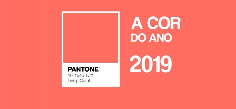 Pantone elegeu a cor do ano de 2019: Living Coral 16-1546 é a nova escolha da marca